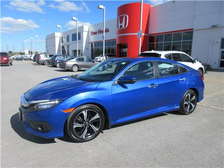 2017 Honda Civic Touring (Stk: 27762L) in Ottawa - Image 1 of 17