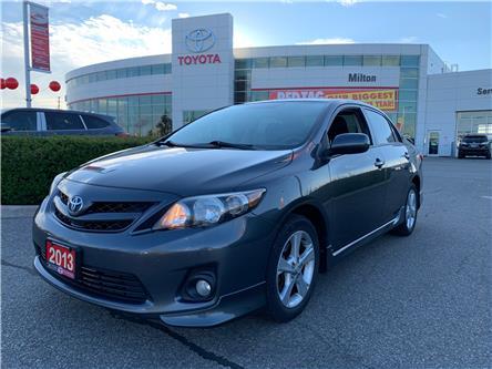 2013 Toyota Corolla S (Stk: 032814) in Milton - Image 1 of 9