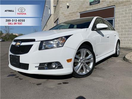 2014 Chevrolet Cruze 2LT RS NAVI, ALLOYS, SPOILER, LEATHER, FOG, SUNROO (Stk: 47663A) in Brampton - Image 1 of 23