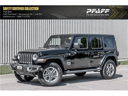 2019 Jeep Wrangler Unlimited Sahara (Stk: 23485A) in Mississauga - Image 1 of 22