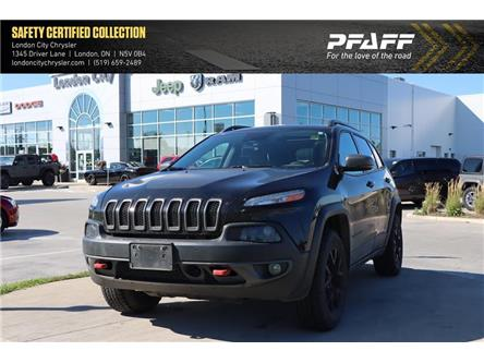 2018 Jeep Cherokee Trailhawk (Stk: LC2710A) in London - Image 1 of 21