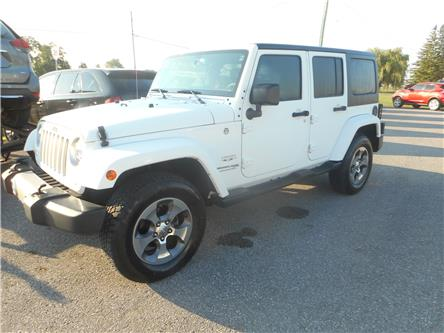 2018 Jeep Wrangler JK Unlimited Sahara (Stk: NC 3955) in Cameron - Image 1 of 12