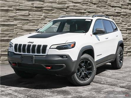 2020 Jeep Cherokee Trailhawk (Stk: J4132) in Brantford - Image 1 of 25