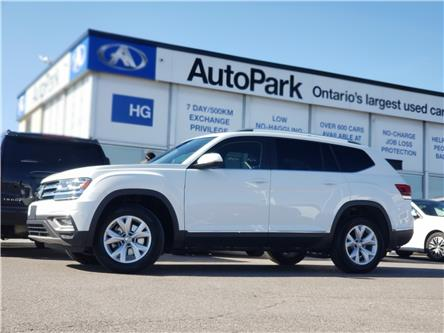 2019 Volkswagen Atlas 3.6 FSI Highline (Stk: 19-44342RJB) in Brampton - Image 1 of 25