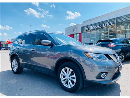 2016 Nissan Rogue SV (Stk: N953A) in Thornhill - Image 1 of 19