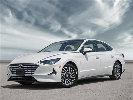2020 Hyundai Sonata Hybrid Ultimate (Stk: 22296) in Aurora - Image 1 of 23