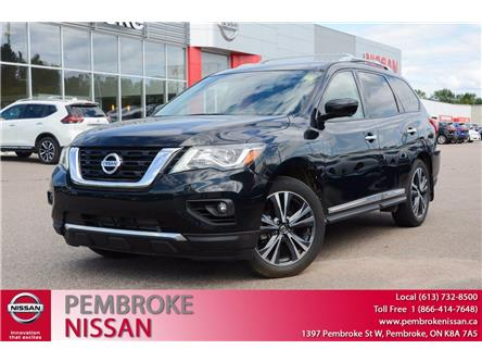 2020 Nissan Pathfinder Platinum (Stk: 20035) in Pembroke - Image 1 of 30