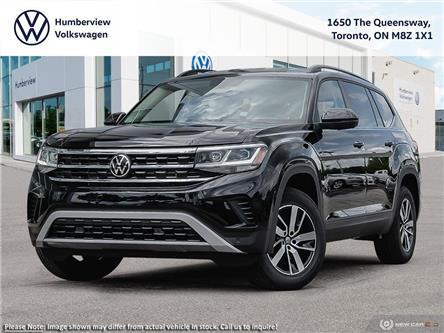 2021 Volkswagen Atlas 3.6 FSI Comfortline (Stk: 98068) in Toronto - Image 1 of 23