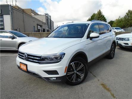 2018 Volkswagen Tiguan Highline (Stk: W1828A) in Toronto - Image 1 of 20