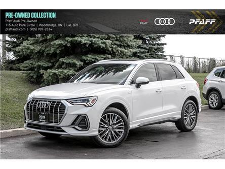 2019 Audi Q3 2.0T Progressiv (Stk: C7833) in Woodbridge - Image 1 of 22
