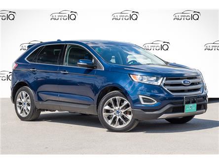 2017 Ford Edge Titanium (Stk: 27647U) in Barrie - Image 1 of 30