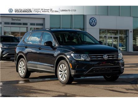 2020 Volkswagen Tiguan Trendline (Stk: 00046) in Calgary - Image 1 of 38