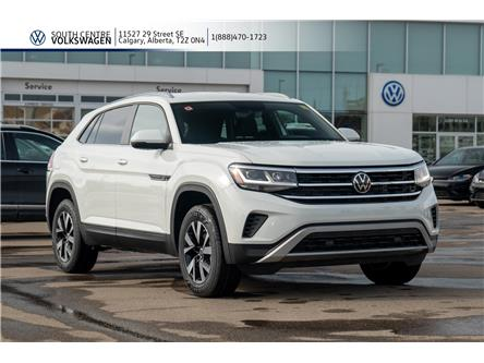 2020 Volkswagen Atlas Cross Sport 2.0 TSI Trendline (Stk: 00103) in Calgary - Image 1 of 40