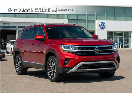 2021 Volkswagen Atlas 3.6 FSI Execline (Stk: 10007) in Calgary - Image 1 of 44