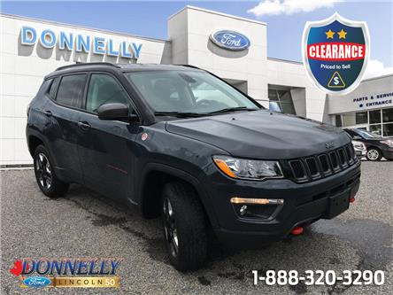 2018 Jeep Compass Trailhawk (Stk: CLDU6560) in Ottawa - Image 1 of 24