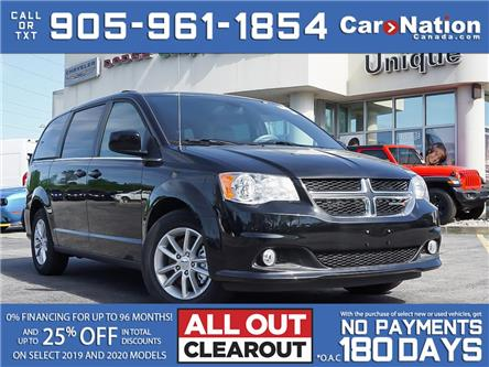 2020 Dodge Grand Caravan PREMIUM PLUS| DVD| NAV| POWER DOORS & TAILGATE (Stk: L471) in Burlington - Image 1 of 25