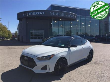 2019 Hyundai Veloster Turbo Tech (Stk: P8335A) in Barrie - Image 1 of 27