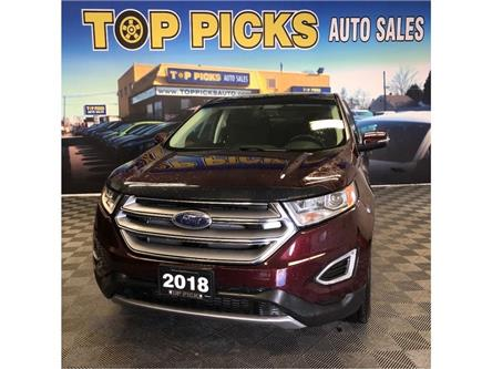 2018 Ford Edge SEL (Stk: B54819) in NORTH BAY - Image 1 of 28