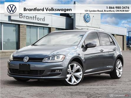 2017 Volkswagen Golf 1.8 TSI Highline (Stk: G19556A) in Brantford - Image 1 of 26