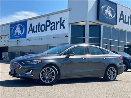 2020 Ford Fusion Hybrid Titanium (Stk: 20-29857RJB) in Barrie - Image 1 of 30