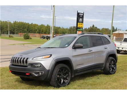 2017 Jeep Cherokee Trailhawk (Stk: LT015A) in Rocky Mountain House - Image 1 of 29