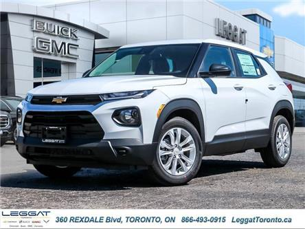 2021 Chevrolet TrailBlazer LS (Stk: 029791) in Etobicoke - Image 1 of 26