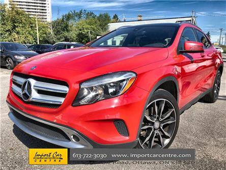2016 Mercedes-Benz GLA-Class Base (Stk: 266367) in Ottawa - Image 1 of 25