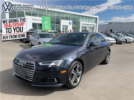 2017 Audi A4 2.0T Technik (Stk: 3580) in Calgary - Image 1 of 29