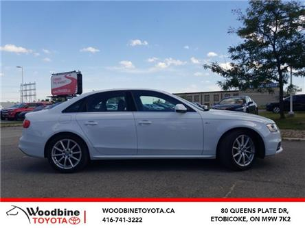 2016 Audi A4 2.0T Progressiv plus (Stk: 9-1122A) in Etobicoke - Image 1 of 30