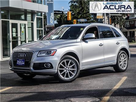 2017 Audi Q5 2.0T Technik (Stk: 20464A) in Burlington - Image 1 of 24