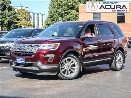 2018 Ford Explorer Limited (Stk: 21002A) in Burlington - Image 1 of 23