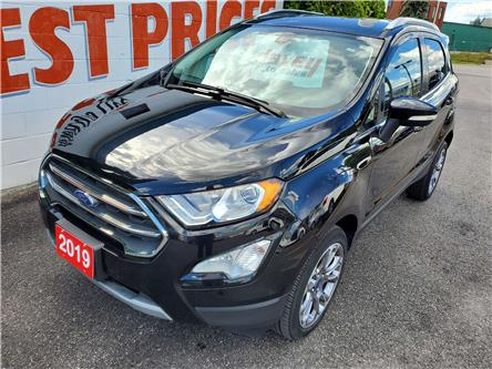 2019 Ford EcoSport Titanium (Stk: 20-455) in Oshawa - Image 1 of 15
