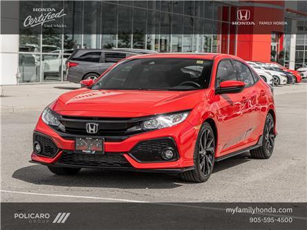 2017 Honda Civic Sport (Stk: 308422P) in Brampton - Image 1 of 23