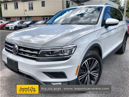 2018 Volkswagen Tiguan Highline (Stk: 185688) in Ottawa - Image 1 of 26