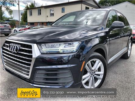 2017 Audi Q7 3.0T Technik (Stk: 019195) in Ottawa - Image 1 of 27