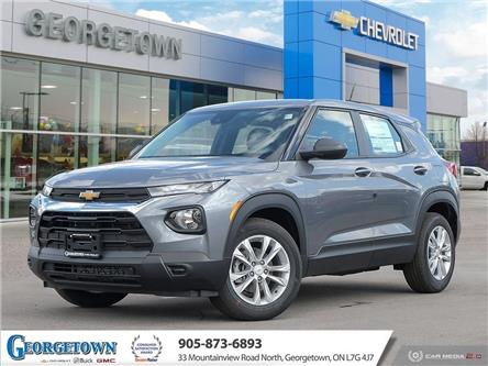 2021 Chevrolet TrailBlazer LS (Stk: 32323) in Georgetown - Image 1 of 28