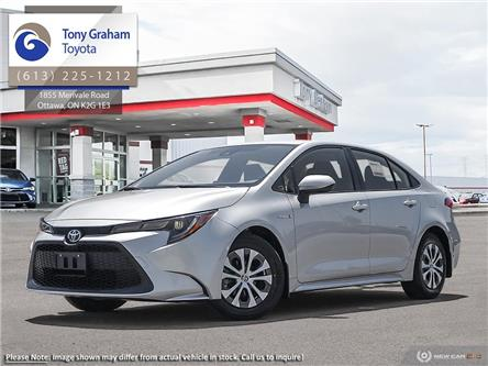 2021 Toyota Corolla Hybrid Base w/Li Battery (Stk: 59812) in Ottawa - Image 1 of 23