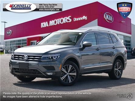 2019 Volkswagen Tiguan Highline (Stk: KU2419) in Kanata - Image 1 of 29