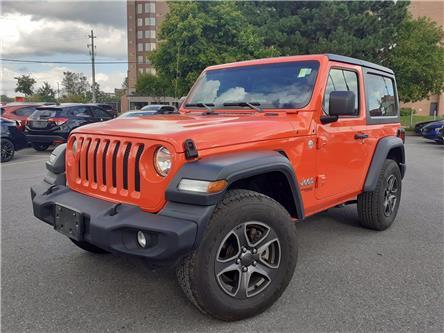 2019 Jeep Wrangler Sport (Stk: P5072) in Ottawa - Image 1 of 20