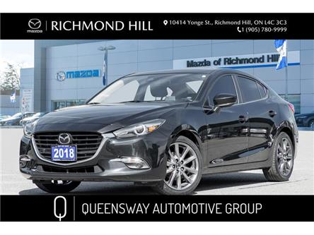 2018 Mazda Mazda3 GT (Stk: 20-196A) in Richmond Hill - Image 1 of 22