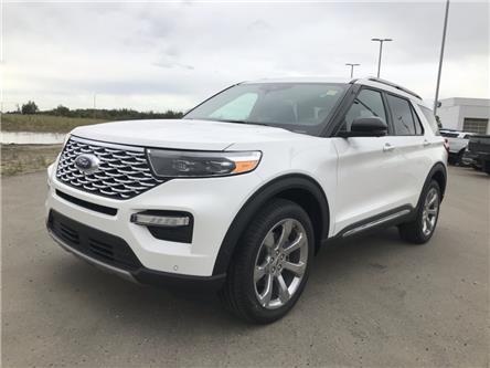 2020 Ford Explorer Platinum (Stk: LEX071) in Ft. Saskatchewan - Image 1 of 23
