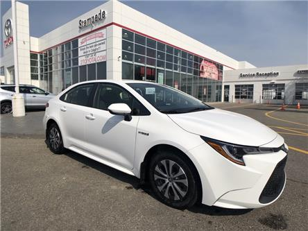 2021 Toyota Corolla Hybrid Base (Stk: 210006) in Calgary - Image 1 of 17