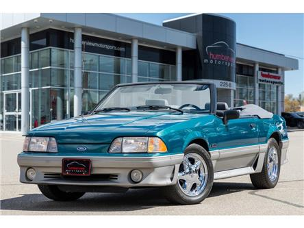 1993 Ford Mustang GT|5.0L|CONVERTIBLE|SUPER CLEAN!! (Stk: 20HMS957) in Mississauga - Image 1 of 24
