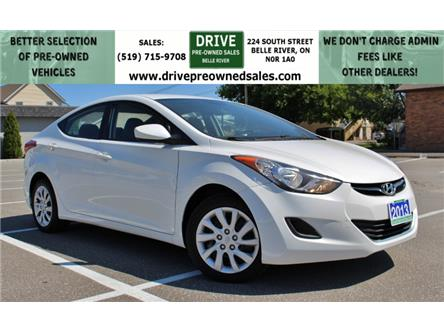 2013 Hyundai Elantra GL (Stk: B0035) in Belle River - Image 1 of 23