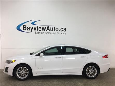 2019 Ford Fusion Hybrid SEL (Stk: 37101W) in Belleville - Image 1 of 29