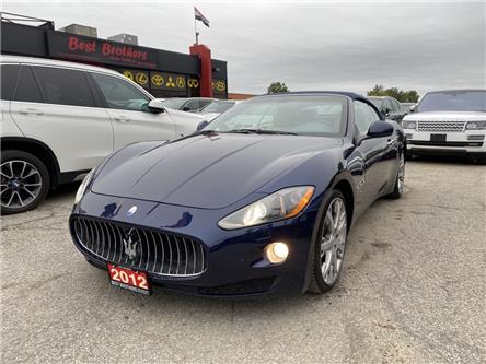2012 Maserati GranTurismo Base (Stk: 063074) in Toronto - Image 1 of 20