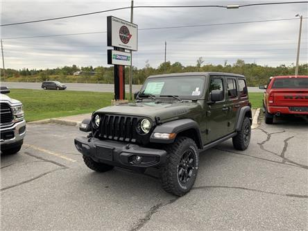 2021 Jeep Wrangler Unlimited Sport (Stk: 6537) in Sudbury - Image 1 of 19