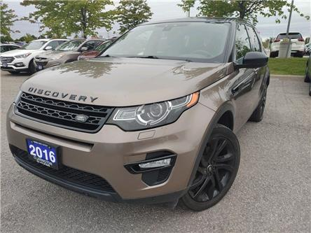 2016 Land Rover Discovery Sport HSE LUXURY (Stk: 20535A) in Clarington - Image 1 of 8