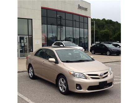 2012 Toyota Corolla CE (Stk: 20381a) in Owen Sound - Image 1 of 9