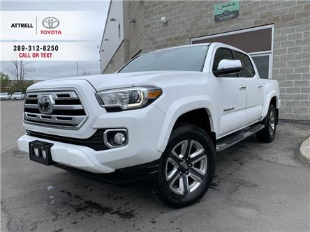 2018 Toyota Tacoma LIMITED 4WD LEATHER, SUNROOF, ALLOYS, PUSH BUTTON (Stk: 47952A) in Brampton - Image 1 of 24